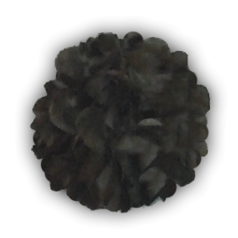 pom pom sötétbarna PB2